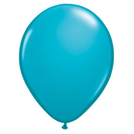 11in Tropical Teal<br> Latex Balloon(Click for Float Time)