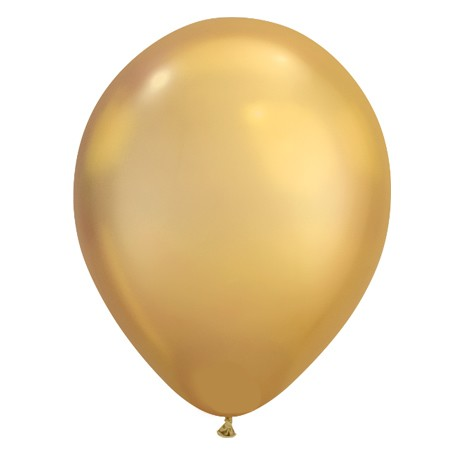 11in Metallic Gold<br> Latex Balloon(Click for Float Time)