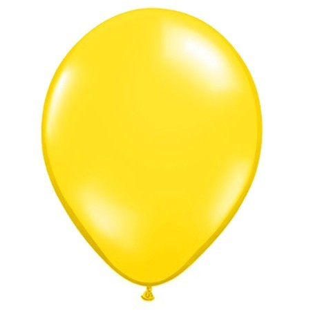 16in Citrine Yellow<br>Latex Balloon