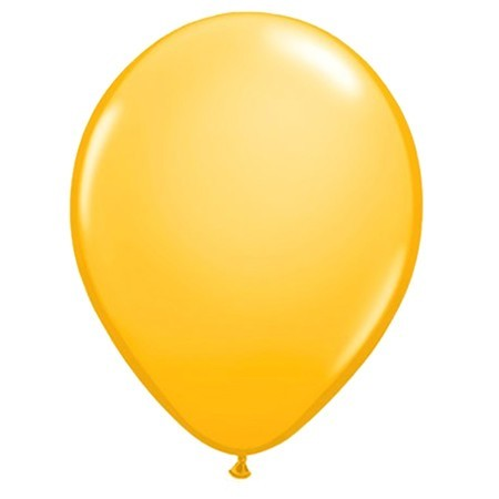 16in Goldenrod<br>Latex Balloon