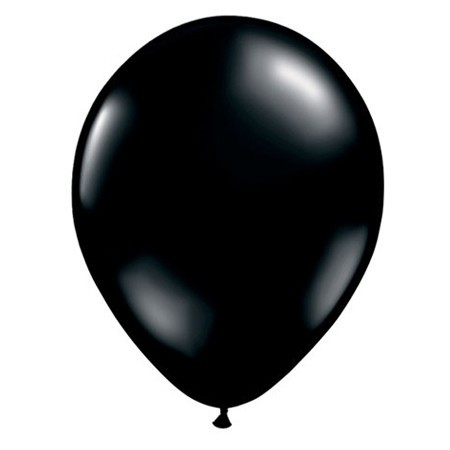 16in Onyx Black<br> Latex Balloon(Click for Details)