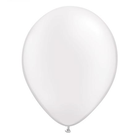 16in White<br>Latex Balloon