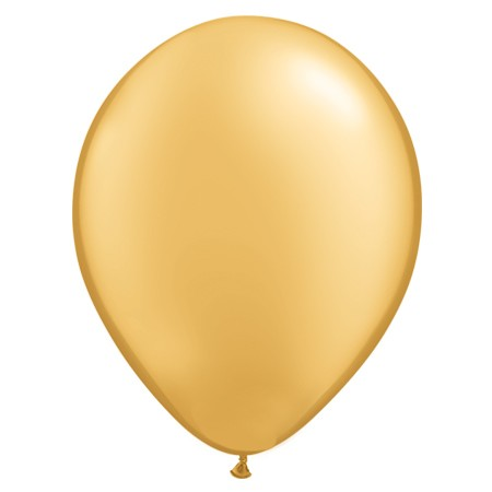 16in Metallic Gold<br>Latex Balloon