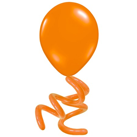 16in Solid Twisty<br> Mandarin Orange(Click for Details)