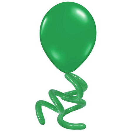 16in Solid Twisty<br> Emerald Green(Click for Details)