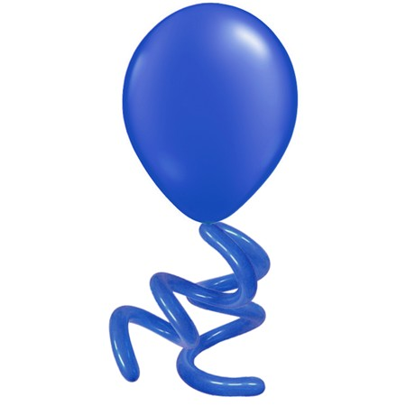 16in Solid Twisty<br> Sapphire Blue(Click for Details)