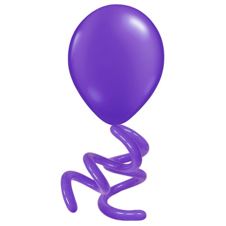 16in Purple Violet<br>Double Twisty