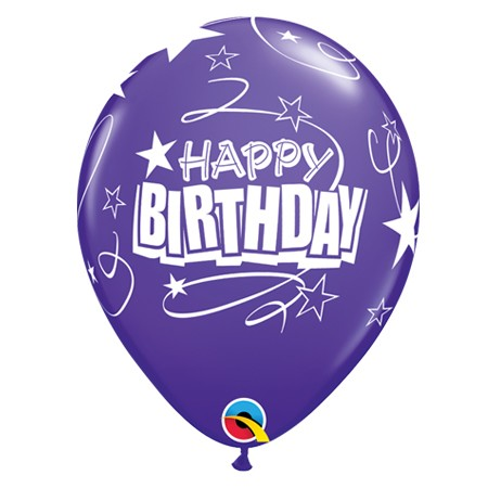 11in Birthday Balloon<br> Quartz Purple(Click for Details)