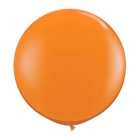 36in Round Latex<br> Mandarin Orange(Click for Details)