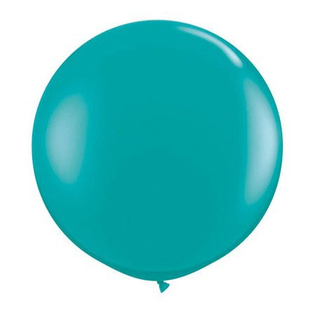36in Round Latex Jewel Teal(Click for Details)