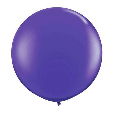 36in Round Latex Quartz Purple(Click for Details)
