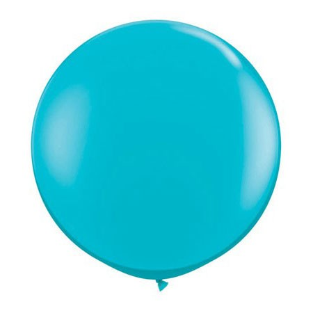 36in Round Latex Tropical Teal(Click for Details)