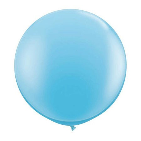 36in Round Latex<br> Pastel Blue(Click for Details)