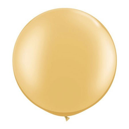 30in Round Latex<br> Metallic Gold(Click for Details)