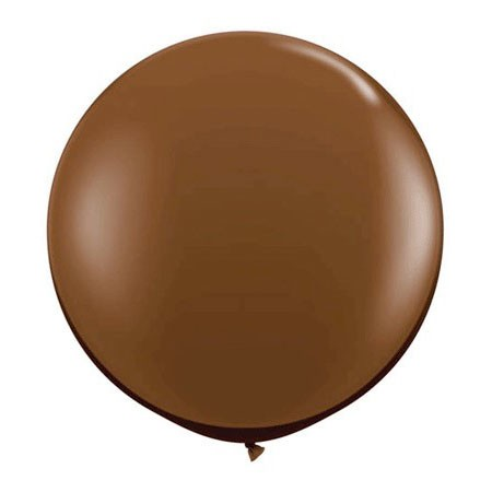 36in Round Latex<br> Chocolate Brown(Click for Details)