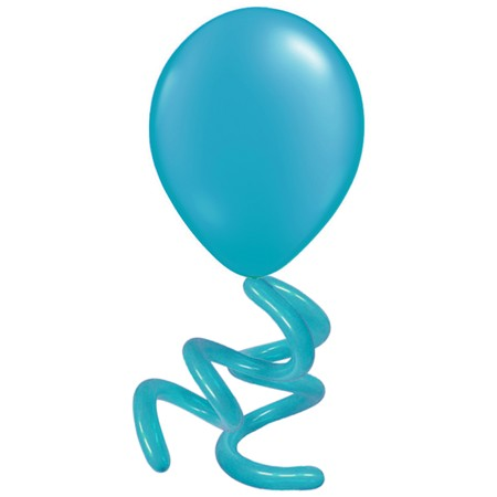 16in Solid Twisty<br> Tropical Teal(Click for Details)