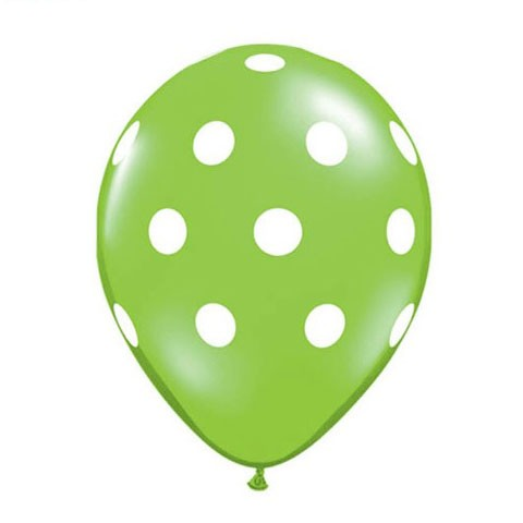 16in Polka Dot Balloon<br> Fashion Lime<br> LIMIT 5 PER ORDER(Click for Details)