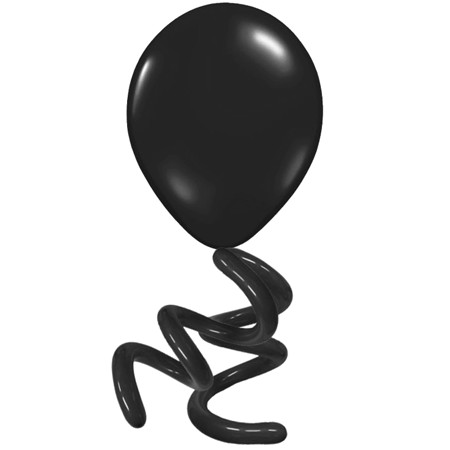 16in Solid Twisty<br> Onyx Black(Click for Details)