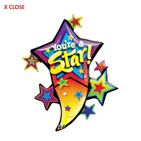 You're A Star<br> Cluster Balloon