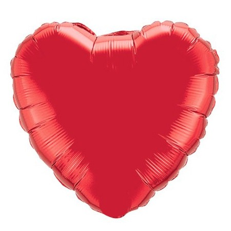 Heart Balloon<br> Red