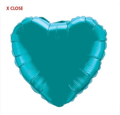 Heart Balloon<br> Teal