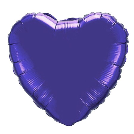 Heart Balloon<br> Purple