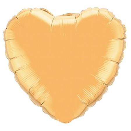 Heart Balloon<br> Gold