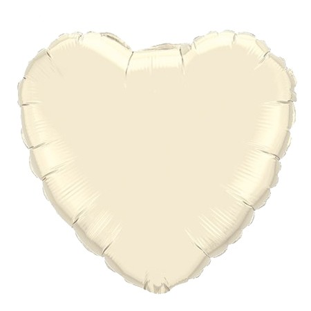 Heart Balloon<br> Ivory
