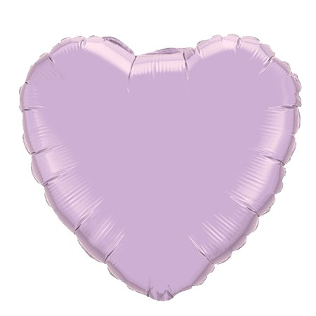 Heart Balloon<br> Lavender