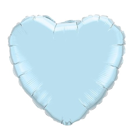Heart Balloon<br> Light Blue