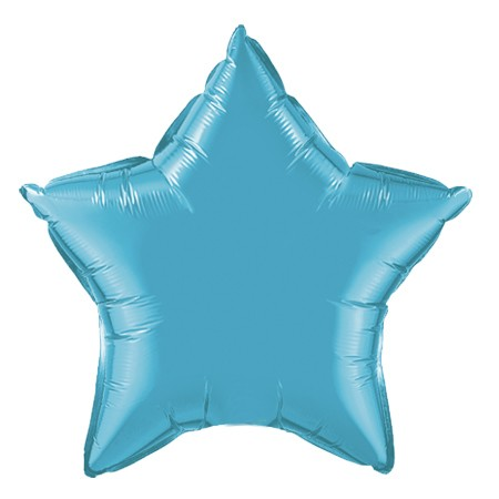 Star Balloon 20in<br> Teal
