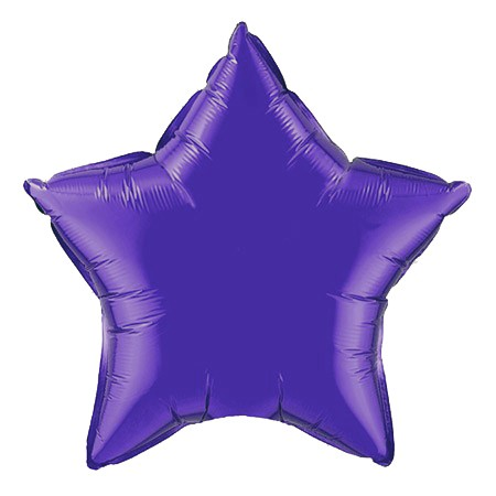 Star Balloon 20in<br> Purple