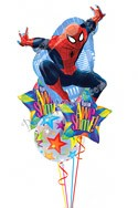 Spiderman Back to School Balloon Bouquet (4 Balloons) delivered in Garland