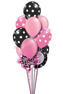 Sweet Sixteen Birthday Balloon Bouquet (12 Balloons) delivered in Scottsdale