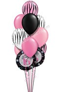 Sweet Sixteen Birthday Balloon Bouquet (12 Balloons) delivered in Arlington