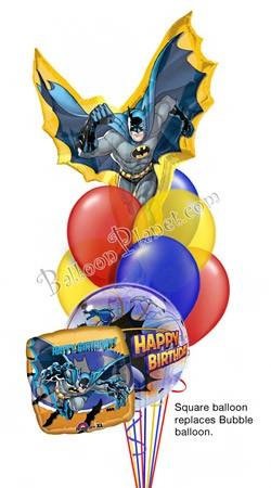 Batman Birthday I Super Shape Balloon Bouquet