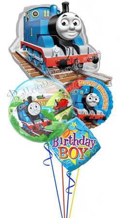 Thomas Birthday II Super Shape Balloon Bouquet