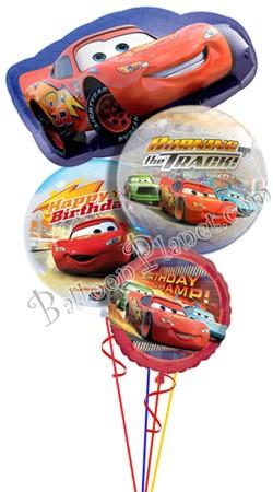 Disney Cars Birthday I Super Shape Balloon Bouquet