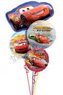 Disney Cars Birthday I Super Shape Balloon Bouquet (4 Balloons) delivered in Jacksonville