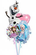 Frozen Birthday Bouquet Balloon Bouquet