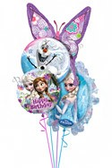 Frozen Birthday II Balloon Bouquet (4 Balloons) delivery in Dallas