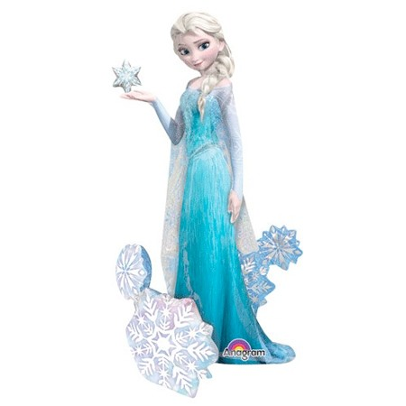 Elsa Snow Queen<br>Frozen Airwalker Balloon