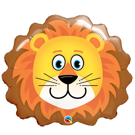 Loveable Lion Balloon