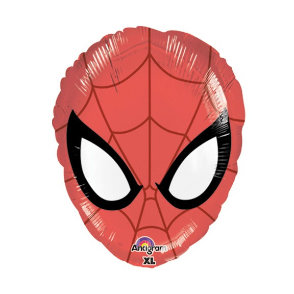 Spiderman Head Balloon