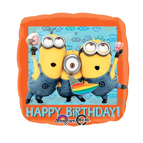 Despicable Me Happy Birthday Balloon