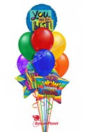 Father's Day Balloon Bouquet (11 Balloons) delivery in Philadelphia