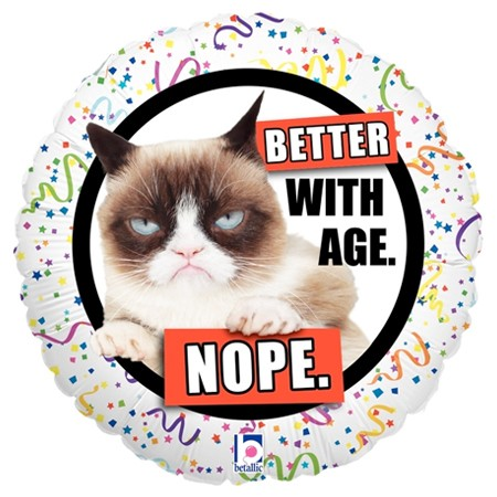 Grumpy Cat Nope Balloon