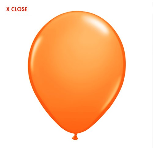 11in Standard Orange<br> Latex Balloon