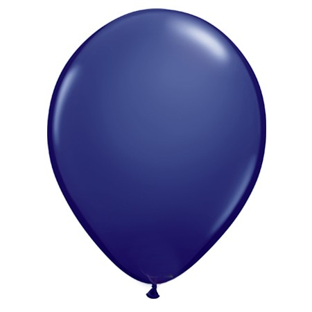 11in Navy Blue Latex Balloon