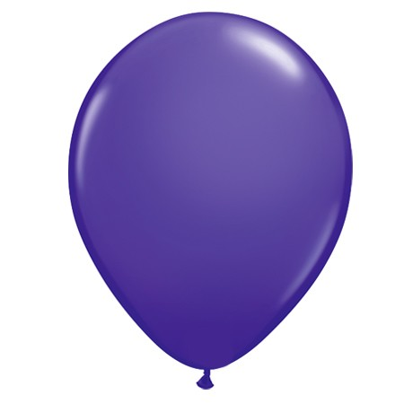 11in Purple Violet Latex Balloon